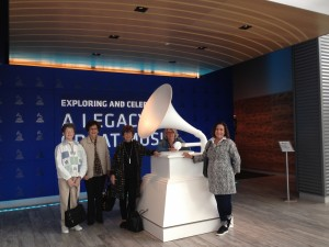Vintage trip to the Grammy Museum in Cleveland