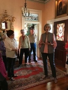1st Monday Lunch Bunch tours Polly's home in Aberdeens